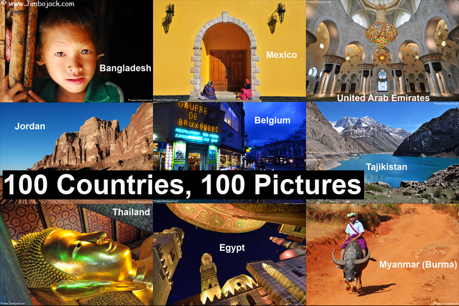 Jimbojack - Index - 100 Countries, 100 Pictures